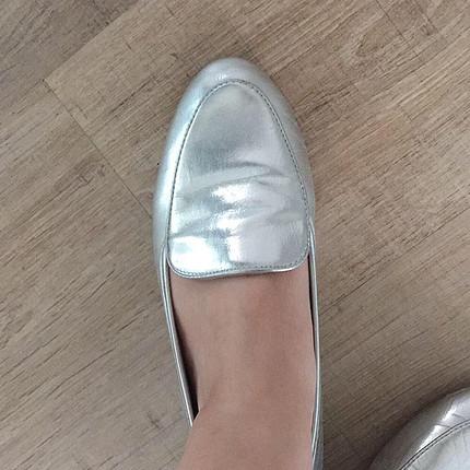 37 Beden gri Renk Babet ayakkabı