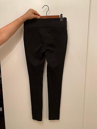 Zara Zara toparlayıcı kalın siyah tayt