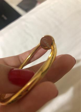 Cartier Çelik çivi bilezik