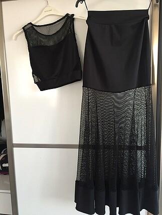 İki parçalı elbise