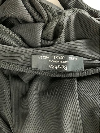 xs Beden siyah Renk Şık bluz