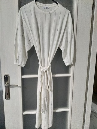 Zara Zara Çizgili Elbise