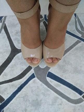 37 Beden ten rengi Renk şık ayakkabı