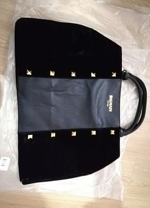 Orjinal Balmain kol çantası