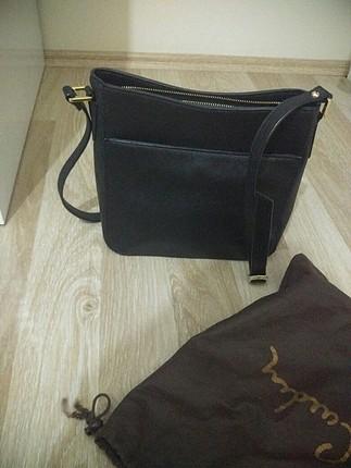 pierre cardin siyah capraz çanta