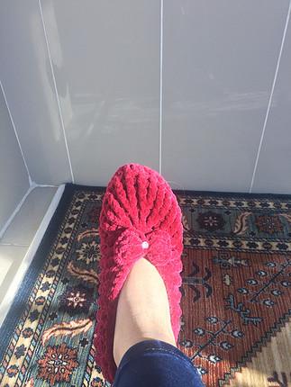 Pelinin Ayakkabıları Kadife ev babeti