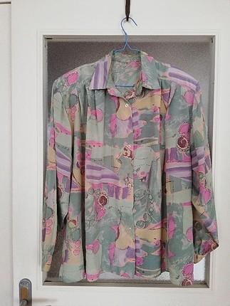 gerçek vintage 90lar gömlek