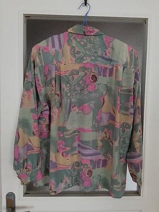 universal Beden gerçek vintage 90lar gömlek