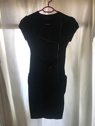 sıfır şık siyah elbise
