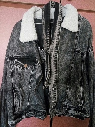 siyah jean ceket