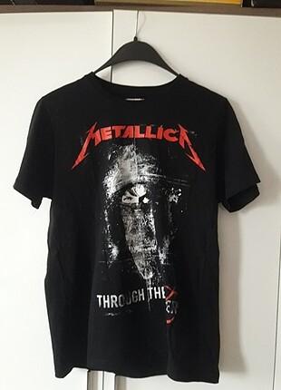 Metallica grup tişörtü