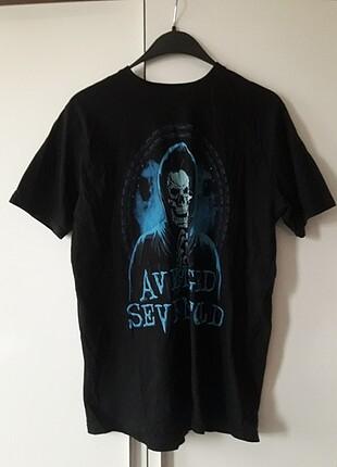 Avenged Sevenfold A7F grup tişörtü