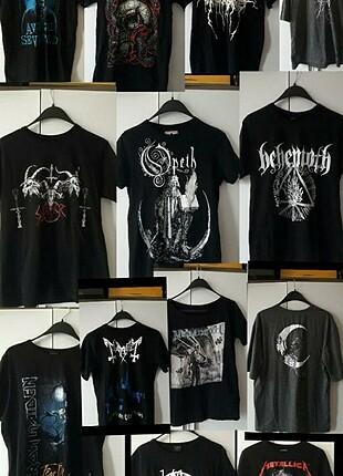 Metal grup tişörtü yama patch