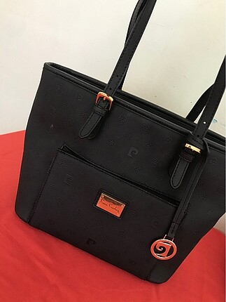 Pierre cardin siyah çanta