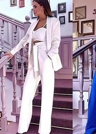 s Beden beyaz Renk Kemer büstiyer pantolon ceket dörtlü takım sıfır. m beden ama xs