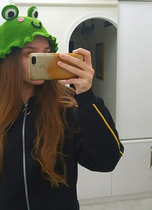 Mango Bucket şapka kurbağalı model