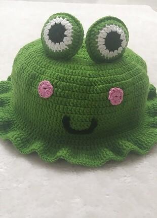Beden Bucket şapka kurbağalı model