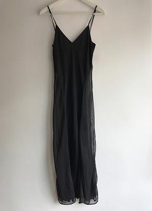 Transparan elbise