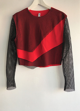 File detaylı sweatshirt