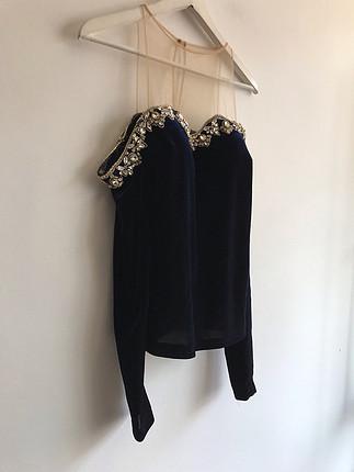 Taşlı bluz