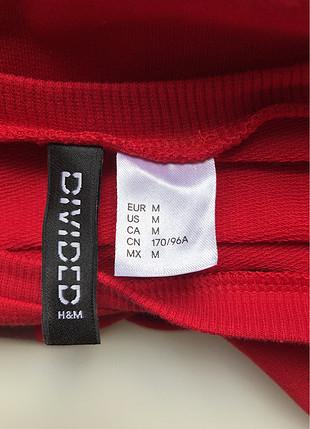 m Beden Kırmızı sweatshirt