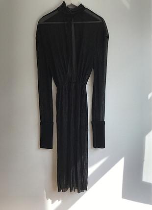 Siyah Tül Elbise