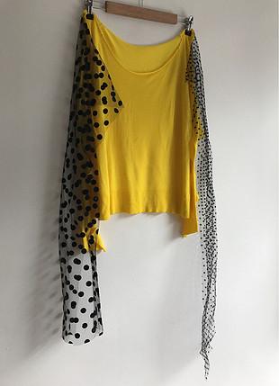 Sarı triko