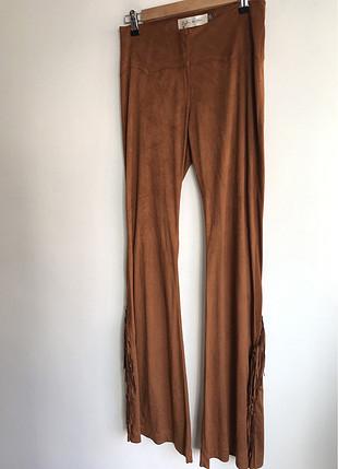 Püsküllü pantolon