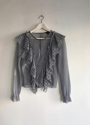 Transparan bluz