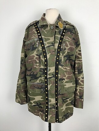 Asker kamuflajlı ceket