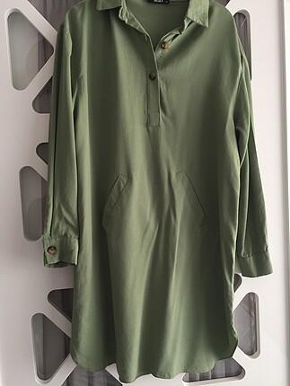 Çağla yeşili gömlek
