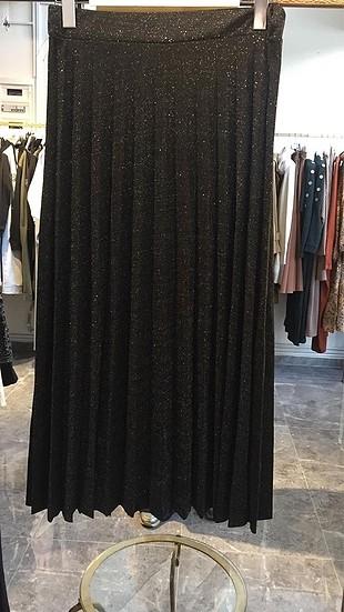 Zara Siyah simli etek ????