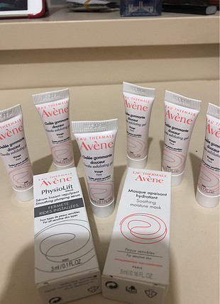 Avene sample set