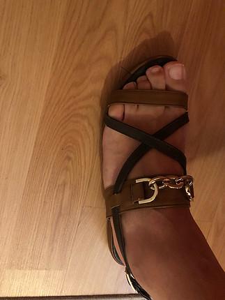 Çok şık yazlık sandalet