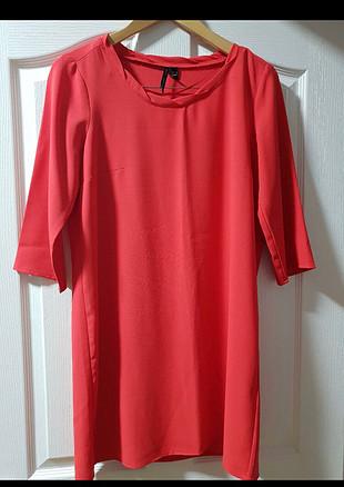 Kırmızı MANGO elbise tünik