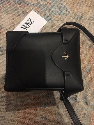 Siyah manu çanta sıfır