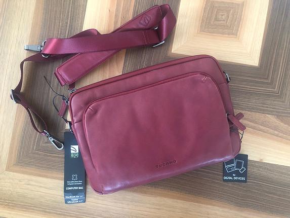 11 inç deri bordo notebook çantası