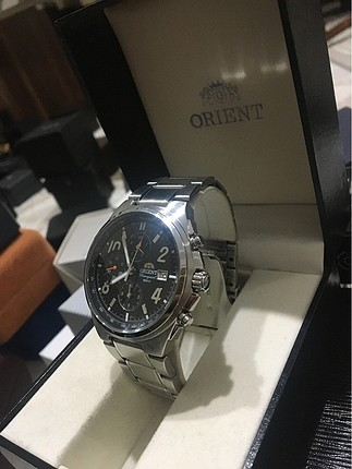 ORIENT CHRONOGRAPH (WL) TTOC-CO CA WATER RESISTANT 50M ALL STAIN
