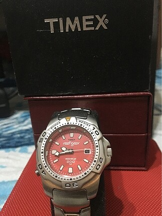 TIMEX REEF GEAR INDIGLO (11) 200M SHOCK RESISTANT- BATTERY CR201