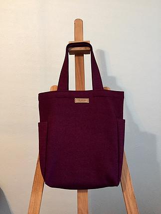 Özel tasarım bez çanta