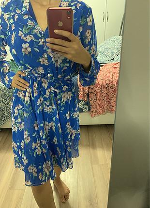 Milla Çiçekli rahat elbise