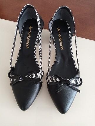 mini Topuklu ayakkabı