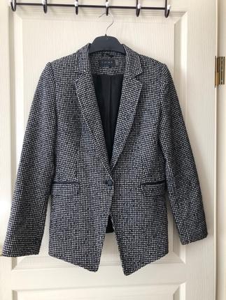 Chima kırçıllı blazer ceket
