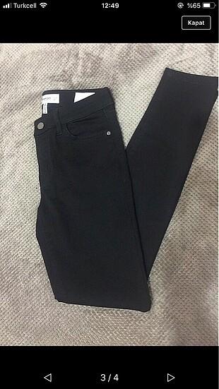 Siyah jean kot
