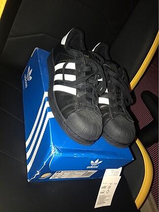 Adidas Superstar 42.5 Siyah-Beyaz