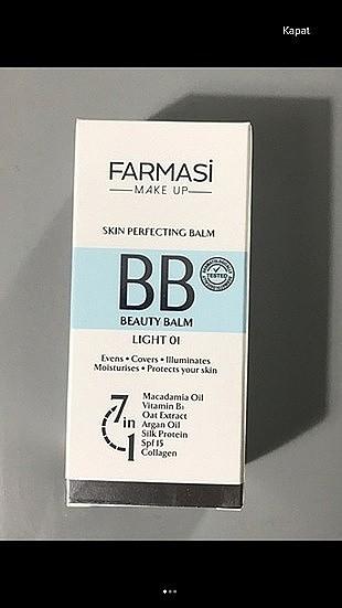 Farmasi bb krem light 01
