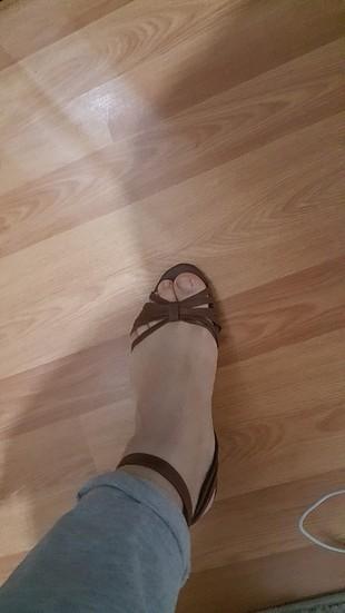 37 Beden Yazlık ayakkabı.