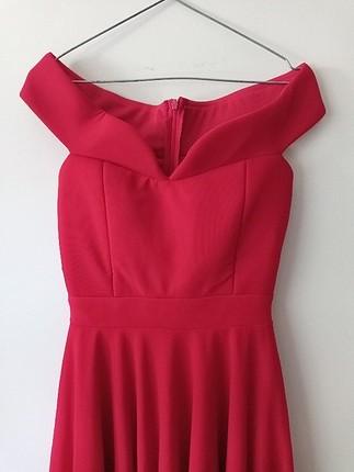 xs Beden Kırmızı elbise