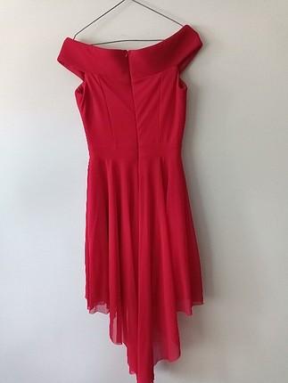 xs Beden kırmızı Renk Kırmızı elbise