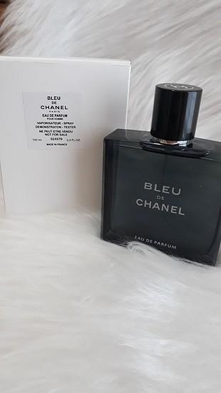 Blue de chanel 100 ml erkek tester parfüm
